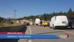 Chase bus crash