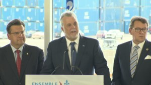 Quebec premier announces financial support for Maritime Strategy