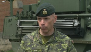Brigadier-General provides update on military assistance with Saskatchewan wildfires