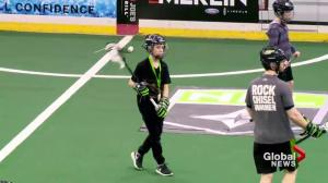 Lacrosse ball boys playing major role for Saskatchewan Rush behind the scenes