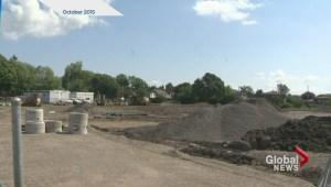 New Dorval soccer field