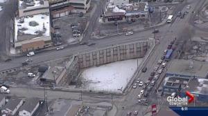 Massive hole off Jasper Ave for sale