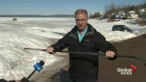 Rothesay man who went through ice preaches safety,preparedness