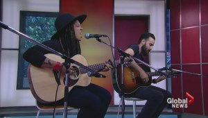 Nefe performs live on News at Noon