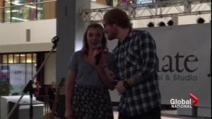 Edmonton girl gets surprise duet with Ed Sheeran
