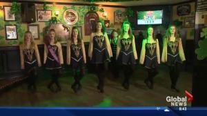 Celebrating St. Patrick's Day in Edmonton: More Irish dancing