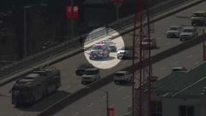 Cyclist hit on Granville Street Bridge