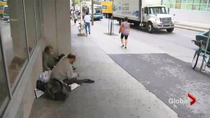 Montreal shines a light on homelessness