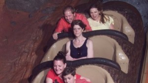 'Grumpy mom': Viral photo captures wife's anger during solo ride on Splash Mountain