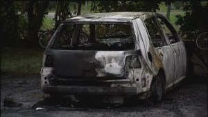 Cars torched in Sherbrooke fire