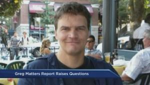 Greg Matters Report