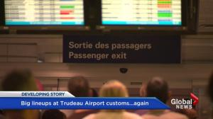 Trudeau airport customs woes