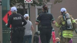 Edmonton first responders run half marathon in uniform