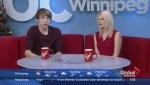 Winnipegger shares new original Christmas song on Global News Morning