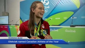 Oleksiak wins Lou Marsh award