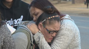 Vigil held outside of Columbia Blvd. apartment where woman was killed