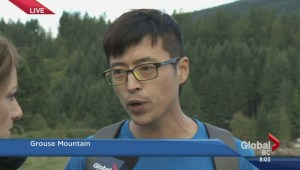 Man rescued from Grouse Mountain
