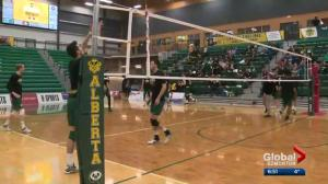 University of Alberta men's volleyball team looking for national championship