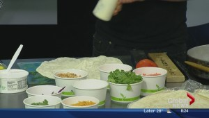 In the Global Edmonton kitchen with Sailin' On