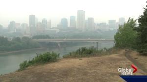 Edmonton stuck in smoky haze