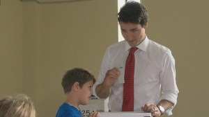 Justin Trudeau and wife Sophie cast their ballots