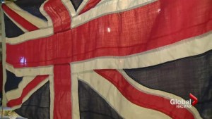 WWI flag gifted to the Shearwater Aviation Museum