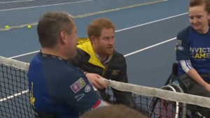 Prince Harry meets with injured service men and women ahead of Invictus Games