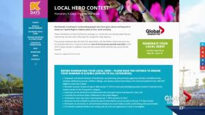 Nominate your local hero