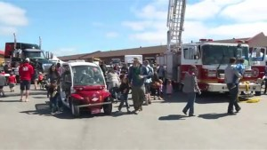 Residents turn out for 'Touch-a-Truck' event