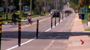 Saint-Lazare bike path to nowhere