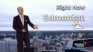 Edmonton morning weather forecast: Thursday, June 22, 2017