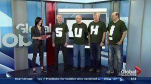 Huskies dads cheer on daughters to basketball victory