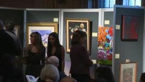 Shield of Athena art auction