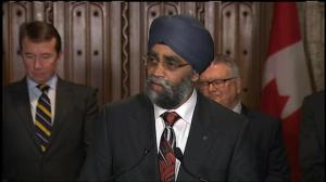 Harjit Sajjan welcomes Auditor General's findings on Canadian Forces recruiting numbers