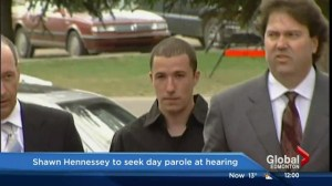 Shawn Hennessey granted day parole