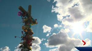 Community prayer walk held in honour of Const. Daniel Woodall