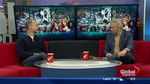 Lord of the Rings actor stops by Global Edmonton studio