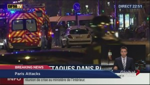 Dozens dead after several attacks in Paris