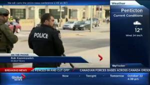 Global News cameraman Rob Kazemzadeh witness to gunman in Parliament building