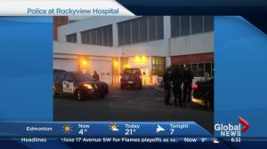 Injured man dropped off at Calgary hospital