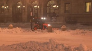 RAW: Boston streets quiet as snow begins to accumulate