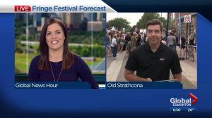 Edmonton Weather Forecast: Aug. 21, 2017