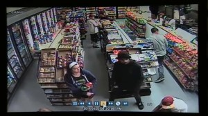 Raw video: Store surveillance video during Santa Barbara shooting attack