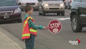 Lethbridge student safety patrollers back on the pavement