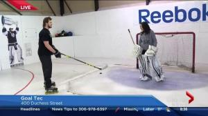 Goal Tec provides unique training for goalies in Saskatchewan