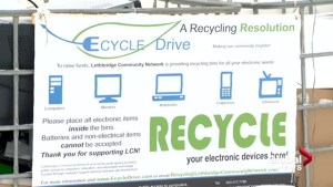 Lethbridge Community Network wants to drive the public to recycle electronics