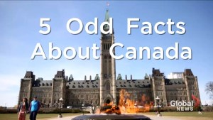 5 odd facts about Canada