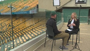 Part 1 of interview with former Eskimos GM and coach Hugh Campbell