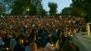 Hundreds gather for Santa Barbara vigil for shooting victims