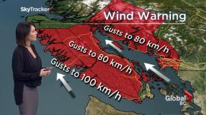 BC Evening Weather Forecast: Oct 13